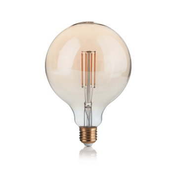Филаментная светодиодная лампа Ideal Lux LAMPADINA VINTAGE E27 4W GLOBO BIG 151724 G120 E27 4W 2200K (теплый) 240V