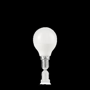 Светодиодная лампа Ideal Lux LAMPADINA POWER E14 7W SFERA 3000K 151731 G45 E14 7W 3000K (теплый) 240V, недиммируемая/недиммируемая