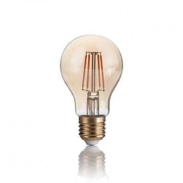 Филаментная светодиодная лампа Ideal Lux LED Vintage LAMPADINA VINTAGE E27 4W GOCCIA 151687 A60 E27 4W 300lm 2200K (теплый) 240V, недиммируемая