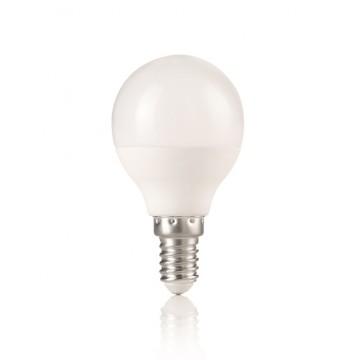Светодиодная лампа Ideal Lux LED Power LAMPADINA POWER E14 7W SFERA 3000K 151731 G45 E14 7W 560lm 3000K (теплый) 240V, недиммируемая