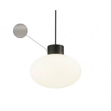 Подвесной светильник Ideal Lux ARMONY SP1 GRIGIO 149509, IP44, 1xE27x60W, серый, белый, металл, пластик