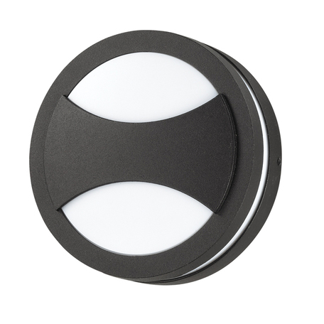 Настенный светильник Novotech Submarine 357230, IP54, 1xGX53x9W, черный, черно-белый, металл, пластик