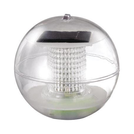 Плавающий светодиодный светильник Novotech Solar 357215, IP66, LED 0,06W, RGB, прозрачный, пластик