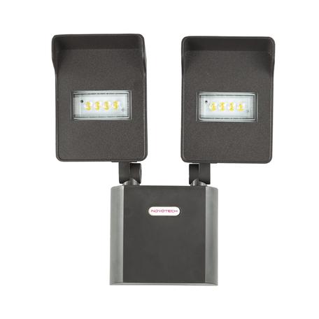 Светодиодный прожектор Novotech Titan 357218, IP54, LED 20W, 4000K (дневной), черный, прозрачный, металл, пластик