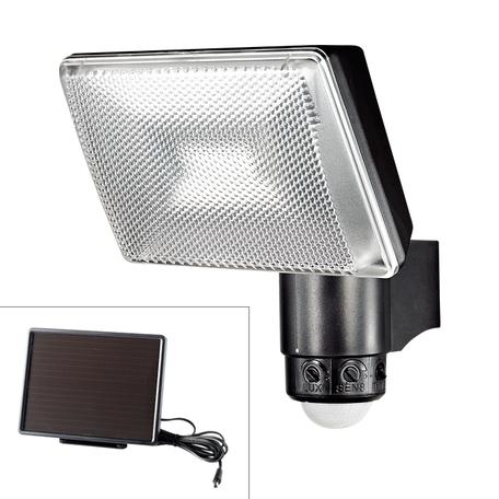 Светодиодный прожектор Novotech Solar 357343, IP65, LED 6W, 5000K (холодный), черный, прозрачный, металл, пластик