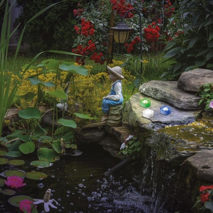 Садово-парковый светодиодный светильник Novotech Tile 357245, IP68, LED, стекло - фото 2