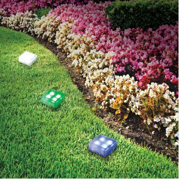 Садово-парковый светодиодный светильник Novotech Tile 357247, IP68, LED, стекло - миниатюра 2