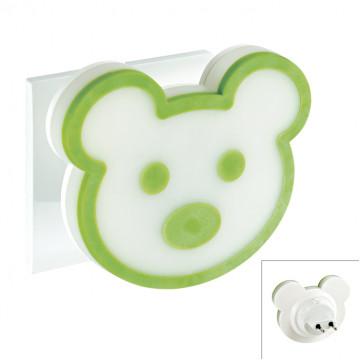Штекерный светодиодный светильник-ночник Novotech Night Light 357333 3000K (теплый), белый, зеленый, пластик