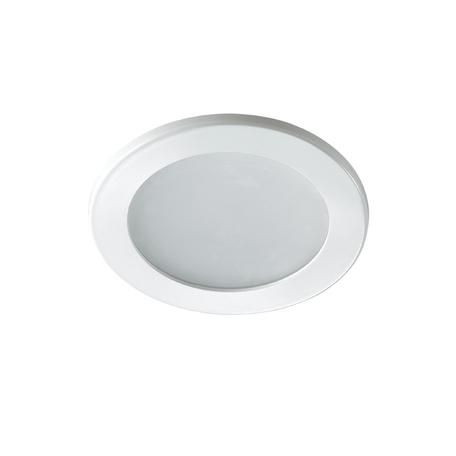 Встраиваемая светодиодная панель Novotech Luna 357168, LED 9W, 3000K (теплый)