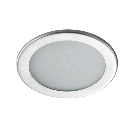 Светодиодная панель Novotech Luna 357174, LED 12W 3000K 950lm, серый, металл, пластик