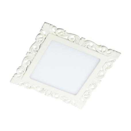 Светодиодная панель Novotech Spot Peili 357284, LED 9W 3000K 990lm, белый, металл с пластиком, пластик