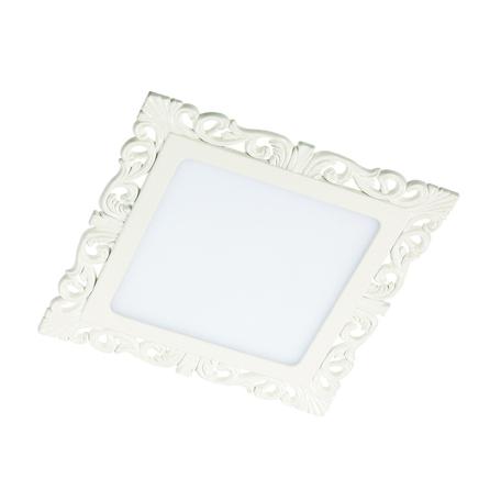Светодиодная панель Novotech Spot Peili 357285, LED 12W 3000K 1320lm, белый, металл с пластиком, пластик