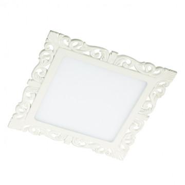 Светодиодная панель Novotech Spot Peili 357286, LED 15W 3000K 1650lm, белый, металл с пластиком, пластик