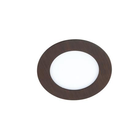 Встраиваемая светодиодная панель Novotech Spot Lante 357293, LED 6W 3000K 660lm, коричневый, металл с пластиком, пластик - миниатюра 1