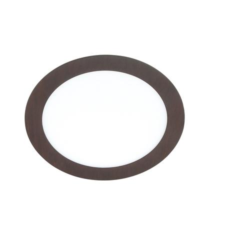 Встраиваемая светодиодная панель Novotech Spot Lante 357295, LED 12W 3000K 1320lm, коричневый, металл с пластиком, пластик