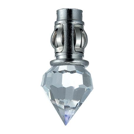 Встраиваемый светодиодный светильник Novotech Star Sky 357021, LED 0,1W 8000K 30lm, хром, прозрачный, металл, хрусталь