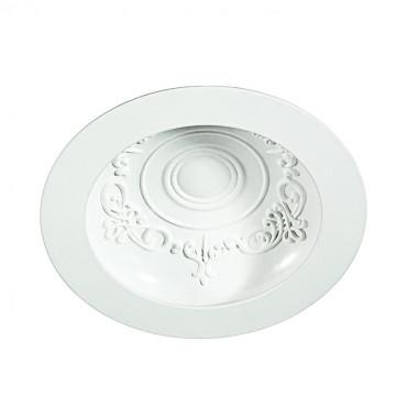 Встраиваемый светодиодный светильник Novotech Spot Gesso 357358, LED 9W 3000K 900lm, белый, металл
