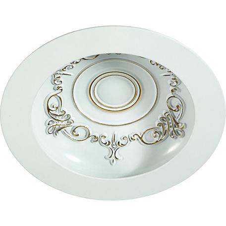 Встраиваемый светодиодный светильник Novotech Gesso 357360, LED 9W 3000K 900lm, белый, металл