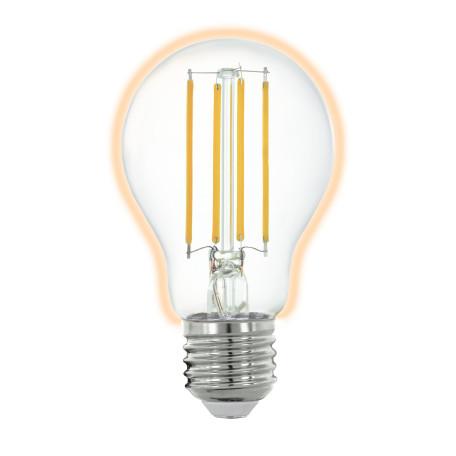 Филаментная светодиодная лампа Eglo 11861 груша E27 6W, 2700K (теплый) 220V