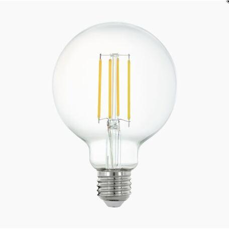 Филаментная светодиодная лампа Eglo 11863 шар E27 6W, 2700K (теплый) 220V