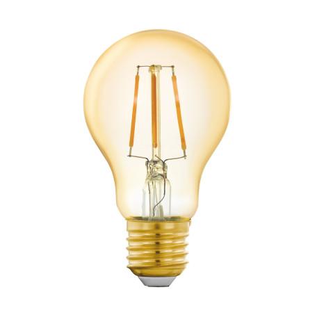 Филаментная светодиодная лампа Eglo 11864 груша E27 5,5W, 2200K (теплый)