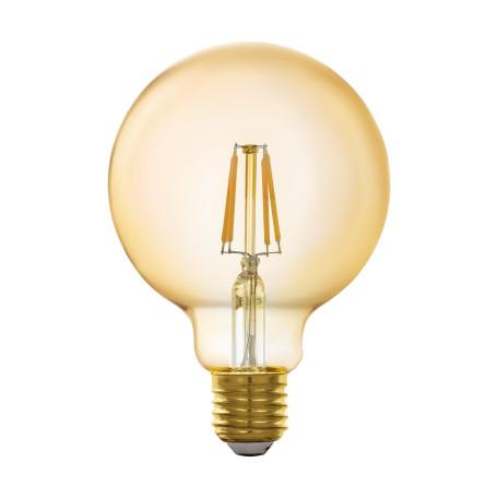 Филаментная светодиодная лампа Eglo 11866 шар E27 5,5W, 2200K (теплый) 220V