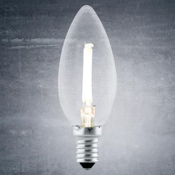 Филаментная светодиодная лампа Eglo 11492 E14 2W, недиммируемая/недиммируемая