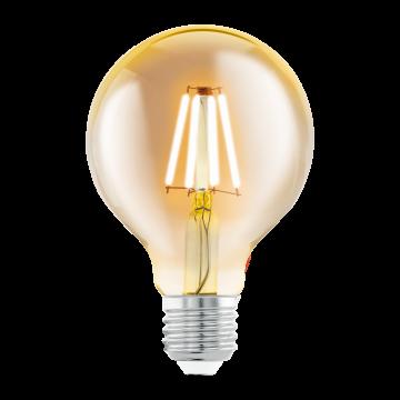 Филаментная светодиодная лампа Eglo 11556 шар E27 4W, 2200K (теплый), гарантия 5 лет