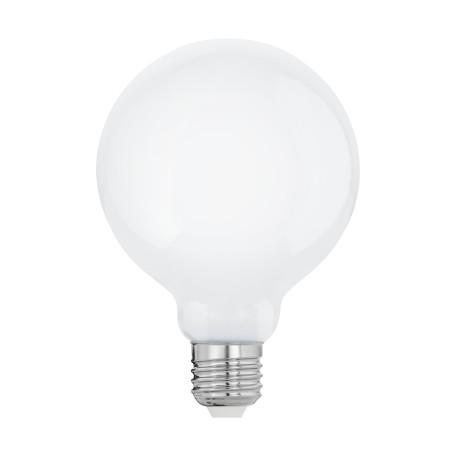 Филаментная светодиодная лампа Eglo 11601 шар малый E27 8W, 2700K (теплый) CRI>80, гарантия 5 лет
