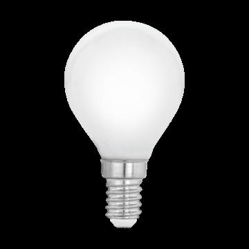 Филаментная светодиодная лампа Eglo 11604 шар E14 4W, 2700K (теплый), гарантия 5 лет
