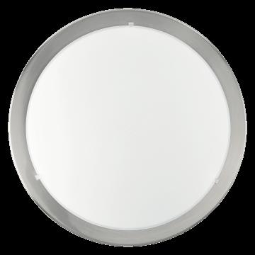 Потолочный светильник Eglo Planet 82942, 1xE27x60W, никель, белый, металл, стекло
