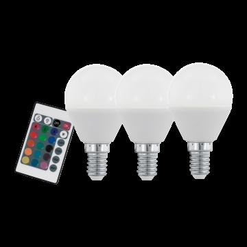 Светодиодная лампа Eglo 10683 E14 4W, 3000K/RGB (теплый), диммируемая, гарантия 5 лет