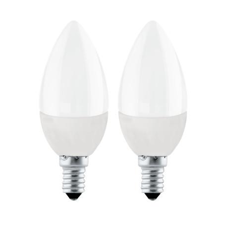 Светодиодная лампа Eglo 10792 свеча E14 4W, 3000K (теплый) CRI>80, гарантия 5 лет