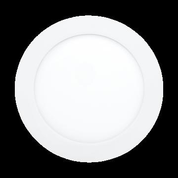 Встраиваемая светодиодная панель Eglo Fueva 1 96244, IP44, LED 10,9W, хром, металл, пластик