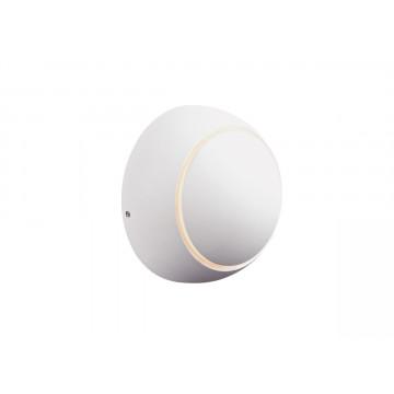Настенный светодиодный светильник с регулировкой направления света Donolux Solar DL18428/11WW-White, IP54, LED 4W 3000K 360lm