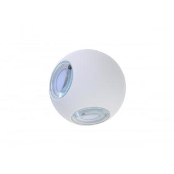 Настенный светодиодный светильник Donolux Lumin DL18442/14 White R Dim, IP54, LED 12W, 3000K (теплый)