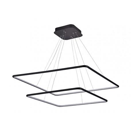 Подвесной светодиодный светильник Donolux Nimbo S111024/2SQ 105W Black In, LED 105W 3000K 3040lm
