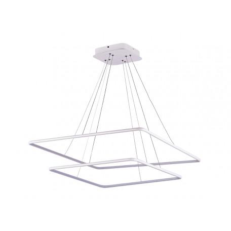 Подвесной светодиодный светильник Donolux Nimbo S111024/2SQ 105W White In, LED 105W 3000K 3040lm, белый