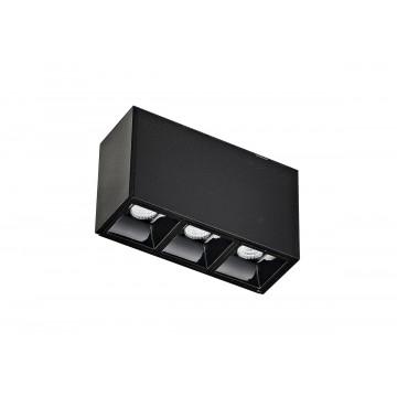 Светильник для магнитной системы Donolux Eye DL18781/03M Black 3000K (теплый)
