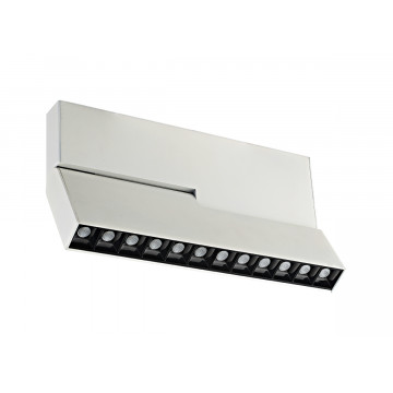 Светодиодный светильник для магнитной системы Donolux Eye Turn DL18786/12M White, LED 12W 3000K 800lm, белый, черно-белый