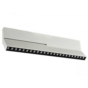 Светодиодный светильник для магнитной системы Donolux Eye Turn DL18786/24M White, LED 24W 3000K 1500lm, белый, черно-белый