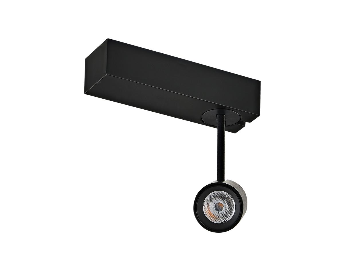 Светодиодный светильник для магнитной системы Donolux Petit DL18788/01M Black, LED 6W, 3000K (теплый) - фото 1