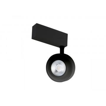 Светодиодный светильник для магнитной системы Donolux Occhio DL18784/01M Black, LED 15W 3000K 928lm
