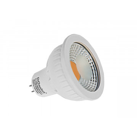 Светодиодная лампа Donolux DL18262/3000 6W GU5.3 MR16 GU5.3 6W, 3000K (теплый) 220V, гарантия 2 года