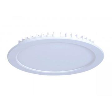 Встраиваемая светодиодная панель Donolux City DL18455/3000-White R, LED 18W, 3000K (теплый)
