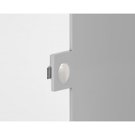 Встраиваемый настенный светодиодный светильник Donolux Cheese DL252G, LED 1W, 3000K (теплый)