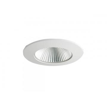 Встраиваемый светодиодный светильник Donolux Omega DL18466/01WW-White R Dim, IP44, LED 5W 3000K 550lm