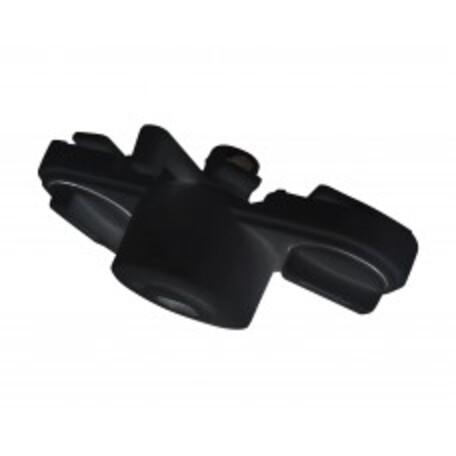 Крепление-адаптер для монтажа светильника на трек Kink Light Треки 130,19, черный, пластик