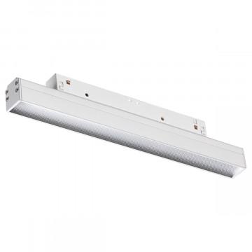 Светодиодный светильник для шинной системы Novotech Flum 358413, LED 12W 4000K 960lm, белый, металл