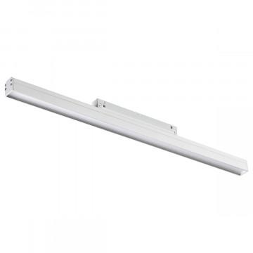 Светодиодный светильник для шинной системы Novotech Flum 358415, LED 24W 4000K 1920lm, белый, металл